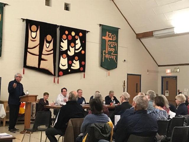 Councillor Colle providing  Ward 8 updates