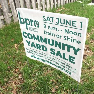 Community Yard Sales - Rain or Shine